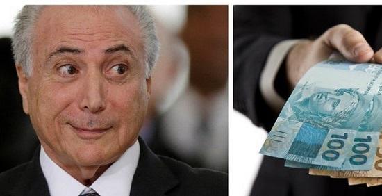 TEMER USA R$ 12 BILHÕES PARA COMPRAR VOTOS E BARRAR DENÚNCIA