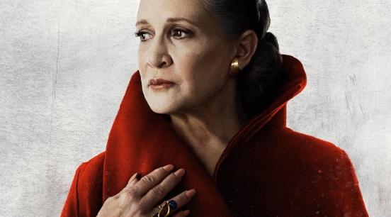 Star Wars – Morte de Carrie Fisher não alterou o destino de Leia no filme