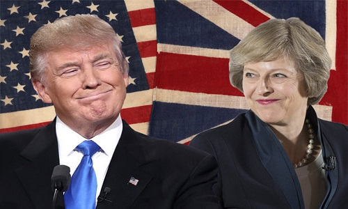 Trump e May trocam críticas