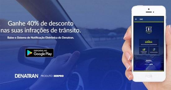 Aplicativo de desconto multas de trânsito adesão de 600 mil usuários