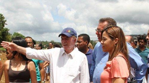 PRESIDENTE DA FUNDAÇÃO LUIS EDUARDO MAGALHÃES CRITICA TEMER EM VISITA A AURELINO LEAL