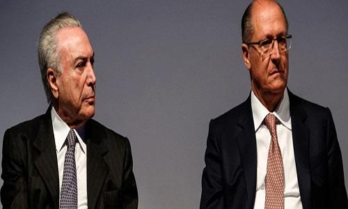 "ALCKMIN: ""PSDB DESEMBARCA DO GOVERNO TEMER"""