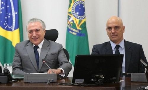 ALEXANDRE DE MORAES ABRE ESPAÇO PARA O GOLPE PARLAMENTARISTA