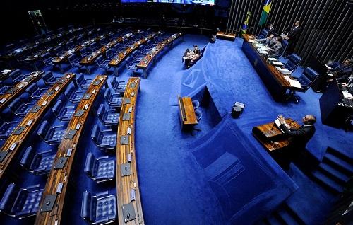 Sem quórum, Senado encerra sessão sem votar projetos