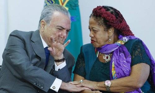Temer vai demitir Luislinda do ministério dos Direitos Humanos