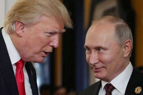 Trump:'Putin me disse que não se intrometeu' na eleição