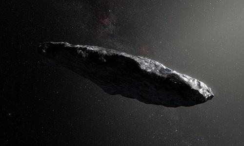 Oumuamua, o asteroide considerado uma nave alienígena