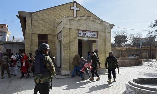 Atentado durante missa em igreja metodista no Paquistão, deixam vários mortos