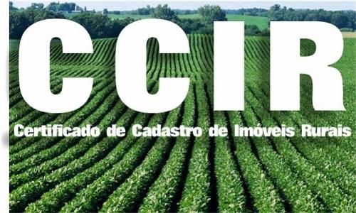 CCIR anual já foi liberado pelo Incra para emissão