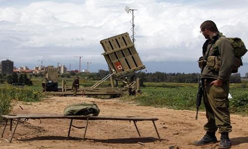 Sistema antimíssil de Israel intercepta foguete de Gaza