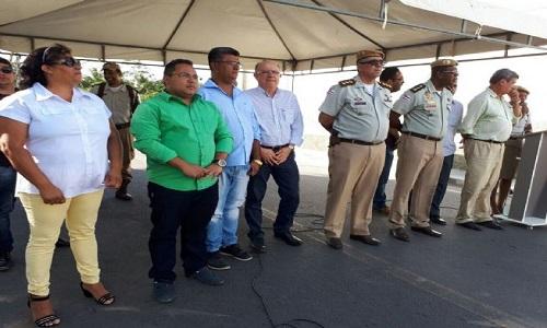 Inaugurado hoje o Posto Policial do Bairro Conceição