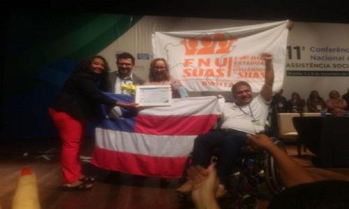 O Município de Feira conquistou o Prêmio Honra ao Mérito para Conselheiros de Assistência Social