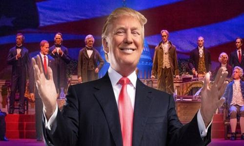 Com robô de Trump, Disney reabre 'Hall de Presidentes'