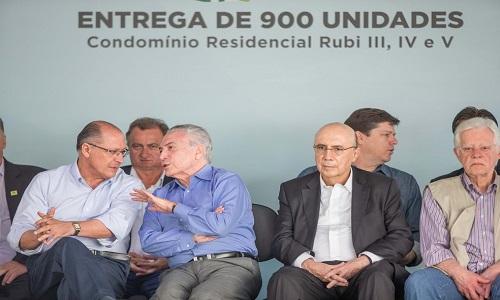 Alckmin diz a Temer:'Conte conosco, a boa política é buscar entendimento'