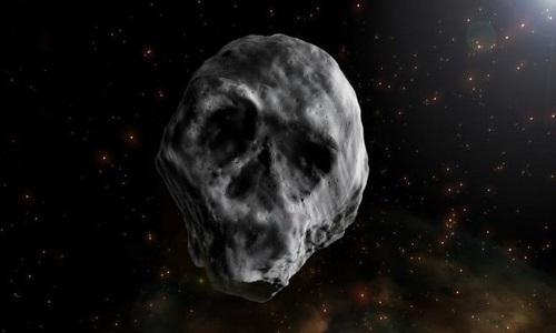 Asteroide em forma de caveira que vai  passar próximo da Terra em 2018