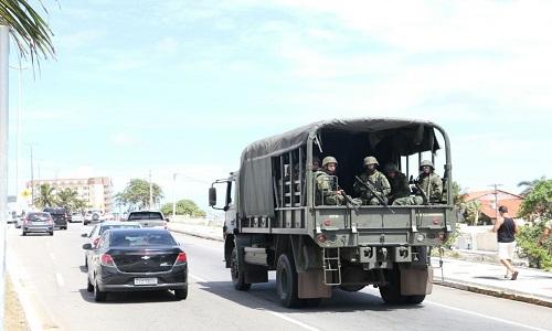Ministro da defesa enviará 2 mil homens das Forças Armadas para o RN