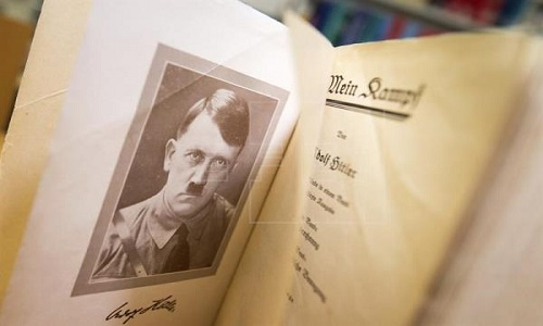 Livro de Hitler vira tema de curso especializado na Holanda