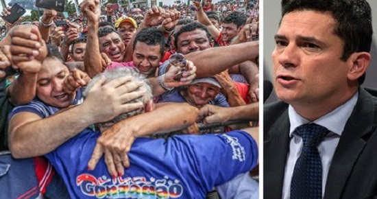 O PROJETO ATUAL DO SISTEMA DE JUSTIÇA É DESTRUIR LULA