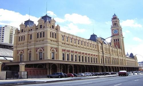 Finalizadas obras na fachada do Museu da Língua Portuguesa
