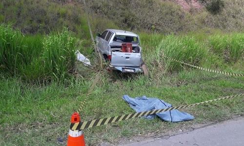 Três pessoas morrem em acidente na BR-324