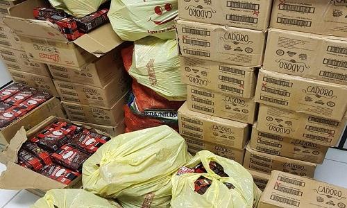 Presos donos de mercado, com carga de café roubada