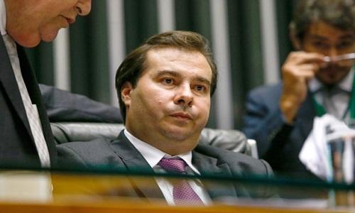 Maia:Congresso não é responsável pela nota do Brasil