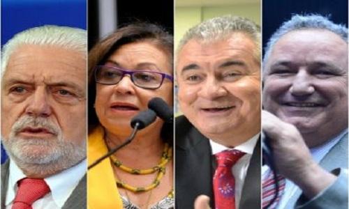 Disputa pelo Senado exibe perfis distintos de políticos
