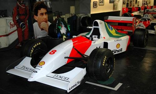 McLaren de Senna no GP de Mônaco será leiloada