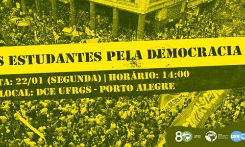 UNE transfere sede para apoiar Lula em julgamento