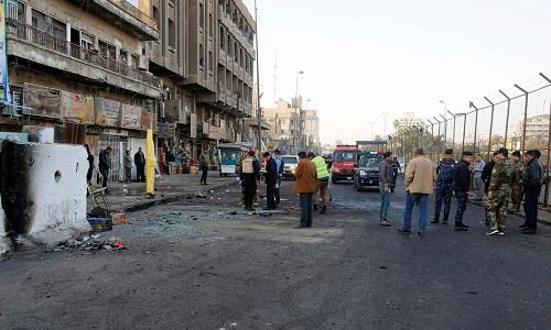 Duplo ataque suicida deixa mortos no centro de Bagdá