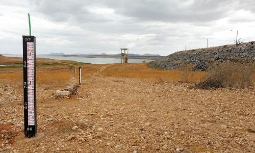 Maior barragem do RN entra em volume morto