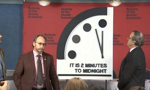 """Em """"Relógio do Juízo Final"""", faltam dois minutos para apocalipse"""