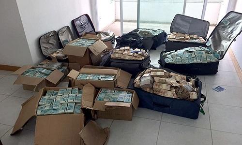 """PF entrega ao STF as malas do """"bunker"""" de Geddel"""