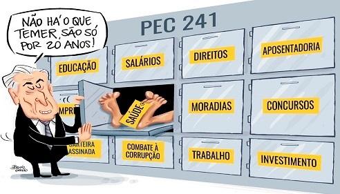 Governo Temer surrupia 39,6 bilhões de reais dos mais pobres, por Sérgio Jones