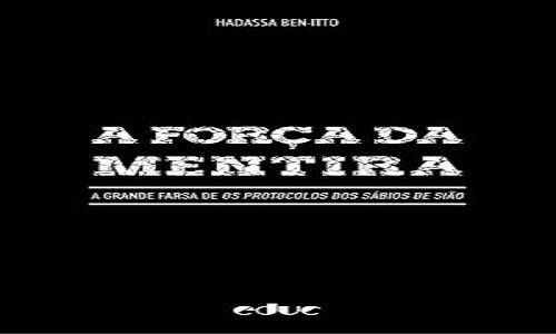 """Livro sobre a farsa de """"Os Protocolos dos Sábios de Sião""""será lançado no Rio"""