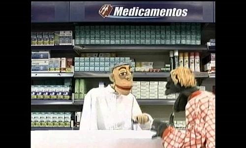 Piada de farmacêutico