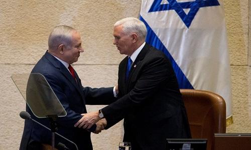 Pence anuncia mudança de embaixada para Jerusalém em 2019