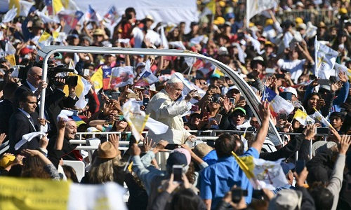 Papa dedica missa no Chile às vítimas da ditadura de Pinochet