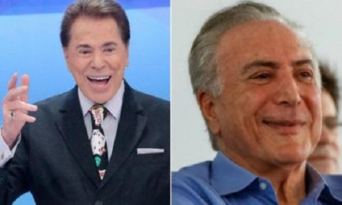 Temer vai defender nova previdência no programa de Silvio Santos e no Ratinho
