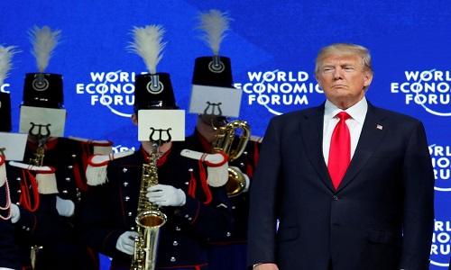 Trump: EUA apoiam o livre comércio, desde que ele seja justo