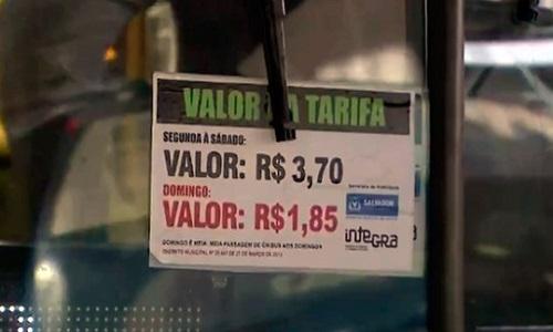 Ônibus e metrô passam a ter novo valor hoje em Salvador
