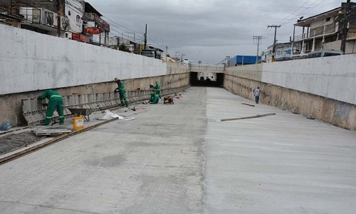 Túnel da Presidente Dutra-João Durval é confirmada para março