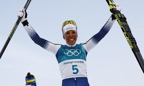 Sueca conquista o primeiro ouro dos Jogos de Inverno