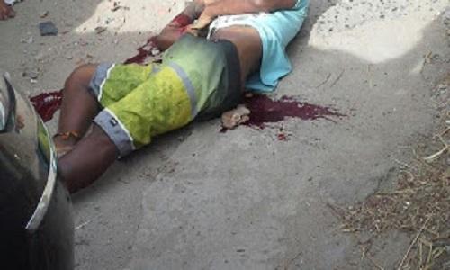 Jovem foi executado no centro de abastecimento