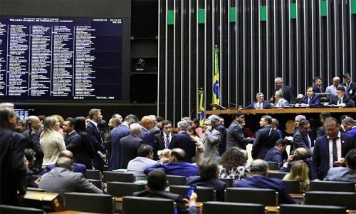 Câmara aprovou a intervenção no Rio de Janeiro