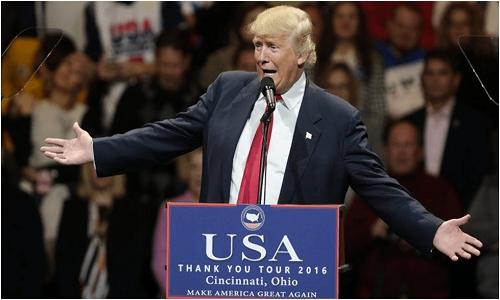 """Trump cita sistema """"quebrado"""" do Reino Unido para criticar saúde universal"""