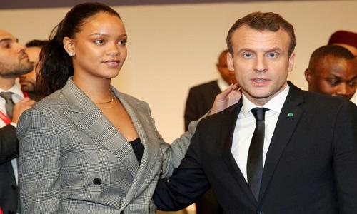 Macron e Rihanna lideram conferência para financiar educação