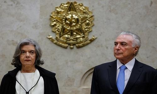 É 'inaceitável' agredir a Justiça, diz Cármen Lúcia