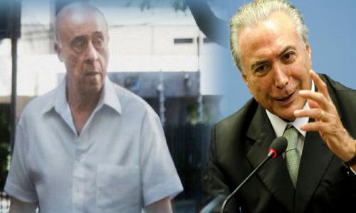 PF intima novamente o ex-coronel ligado a Temer a depor sobre propina