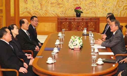 Presidente da Coreia do Sul e convidado por Kim Jong-un para reunião Pyongyang